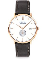 Movado - Heritage Series Calendoplan Watch - Lyst