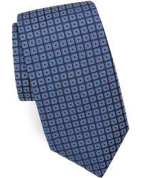 Corneliani - Medallion-print Silk Tie - Lyst