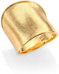 Marco Bicego - Lunaria 18k Yellow Gold Large Band Ring - Lyst