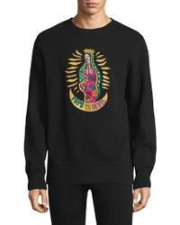 PRPS - Kindhearted Embroidered Sweatshirt - Lyst