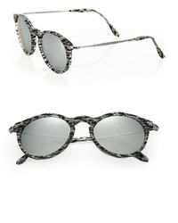 Kyme - 48mm Oval Sunglasses - Lyst