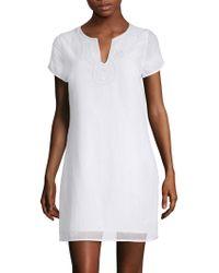 Vineyard Vines - Beaded Tunic Dress - Lyst