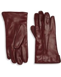 Saks Fifth Avenue | Leather Gloves | Lyst