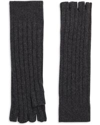 Saks Fifth Avenue - Cashmere Fingerless Gloves - Lyst