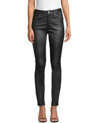 ESCADA - Leather Skinny Jeans - Lyst