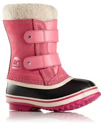 Sorel - Baby's 1964 Pac Faux Fur-cuff Suede Snow Boots - Lyst