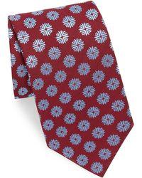 Charvet - Flake Pattern Silk Tie - Lyst