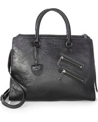 Rebecca Minkoff - Large Leather Jamie Satchel - Lyst