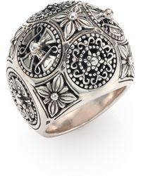 Konstantino - Penelope Sterling Silver Dome Ring - Lyst