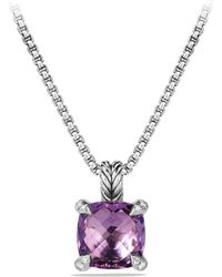 David Yurman - Châtelaine Pendant Necklace With Gemstone And Diamonds - Lyst