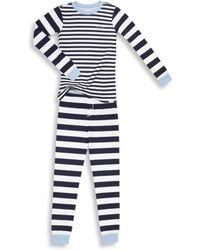 Calvin Klein - Boy's Two-piece Tee & Trousers Pyjama Set - Lyst