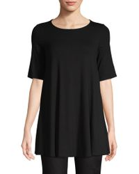 Eileen Fisher - Elbow-sleeve Tunic - Lyst