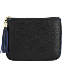 Graphic Image - Leather Zip Pouch - Lyst