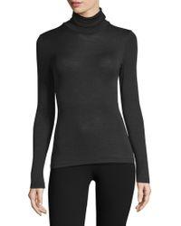 Hanro - Wool & Silk Turtleneck Pullover - Lyst