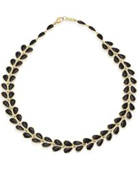 Ippolita - Polished Rock Candy® Black Onyx & 18k Yellow Gold Necklace - Lyst