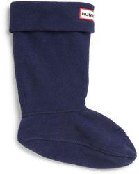 HUNTER - Baby's, Little Kid's & Kid's Fleece Welly Socks - Lyst