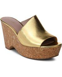 Diane von Furstenberg - Bonnie Wedge Sandals - Lyst