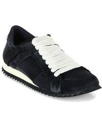 Pedro Garcia - Cristina Satin Trainer Sneakers - Lyst