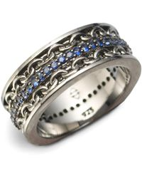 Stephen Webster - Black Rhodium Plated Ring - Lyst