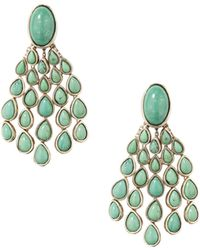 Aurelie Bidermann - Cherokee Lapiz-lazuli Chandelier Earrings - Lyst