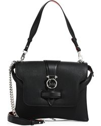 Christian Louboutin - Rubylou Small Leather Shoulder Bag - Lyst