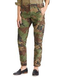 Polo Ralph Lauren | Camouflage Cotton Cargo Pants | Lyst