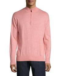 Peter Millar - Crown Soft Heathered Pullover - Lyst