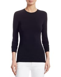 Ralph Lauren Collection - Iconic Style Long-sleeve Top - Lyst