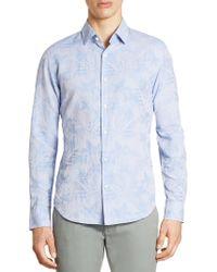 Bonobos - Premium Leaf-print Shirt - Lyst