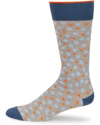 Saks Fifth Avenue - Collection Mid-calf Pop Dot Socks - Lyst