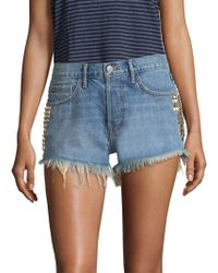 Sandrine Rose - The Doll Denim Shorts - Lyst