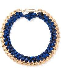 Aurelie Bidermann - Do Brasil Braided Necklace - Lyst