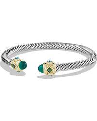 David Yurman - Women's Renaissance Bracelet With Gemstones And 14k Gold - Citrine - Size M - Lyst