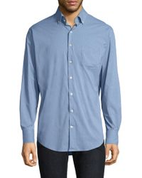 Peter Millar - Parsons Performance Chequered Button-down Shirt - Lyst