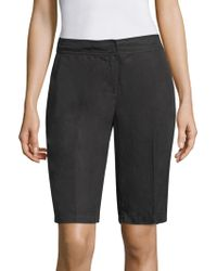 Eileen Fisher - Elasticized Shorts - Lyst