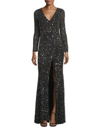 Rachel Gilbert   Paola Embellished Gown   Lyst