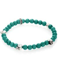 King Baby Studio - Turquoise Beaded Bracelet - Lyst