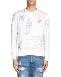 Alexander McQueen | Scrabble Print Sweatshirt | Lyst