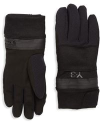 Y-3 | Zip Gloves | Lyst