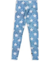 Terez - Girl's Star Printed Denim Leggings - Lyst