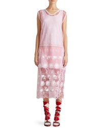 Burberry | Embroidered Tulle Dress | Lyst