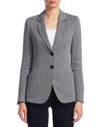 Emporio Armani - Two-button Patch Pocket Jacket - Lyst
