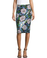Diane von Furstenberg - Sequin Pencil Skirt - Lyst