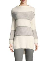 St. John - Bell Shaped Sweater - Lyst