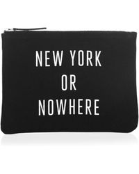 Saks Fifth Avenue - Knowlita Graphic Pouch - Lyst