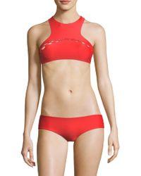 Mikoh Swimwear - Bangkok Bikini Top - Lyst