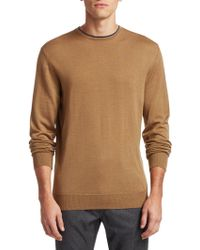 Saks Fifth Avenue - Collection Wool & Silk Sweater - Lyst