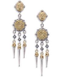 Konstantino - Gaia Chandelier Earrings - Lyst