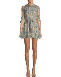 The Kooples - Floral-print Dress - Lyst