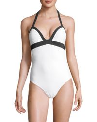 Heidi Klein - One-piece Push Up Swimsuit - Lyst